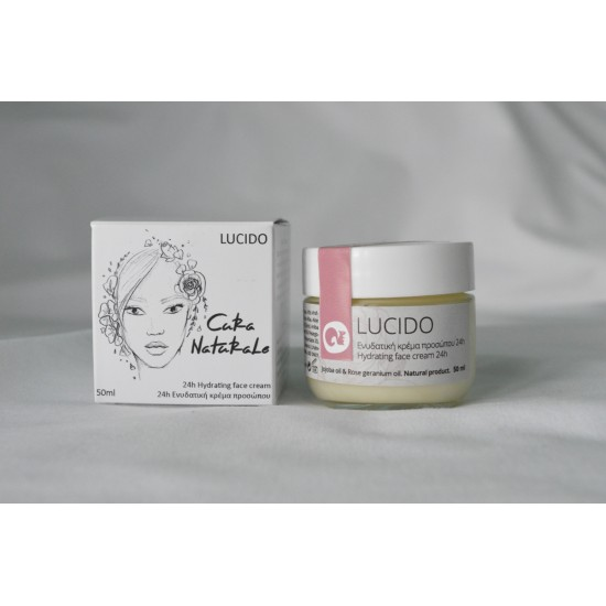 LUCIDO 24h Hydrating Face Cream